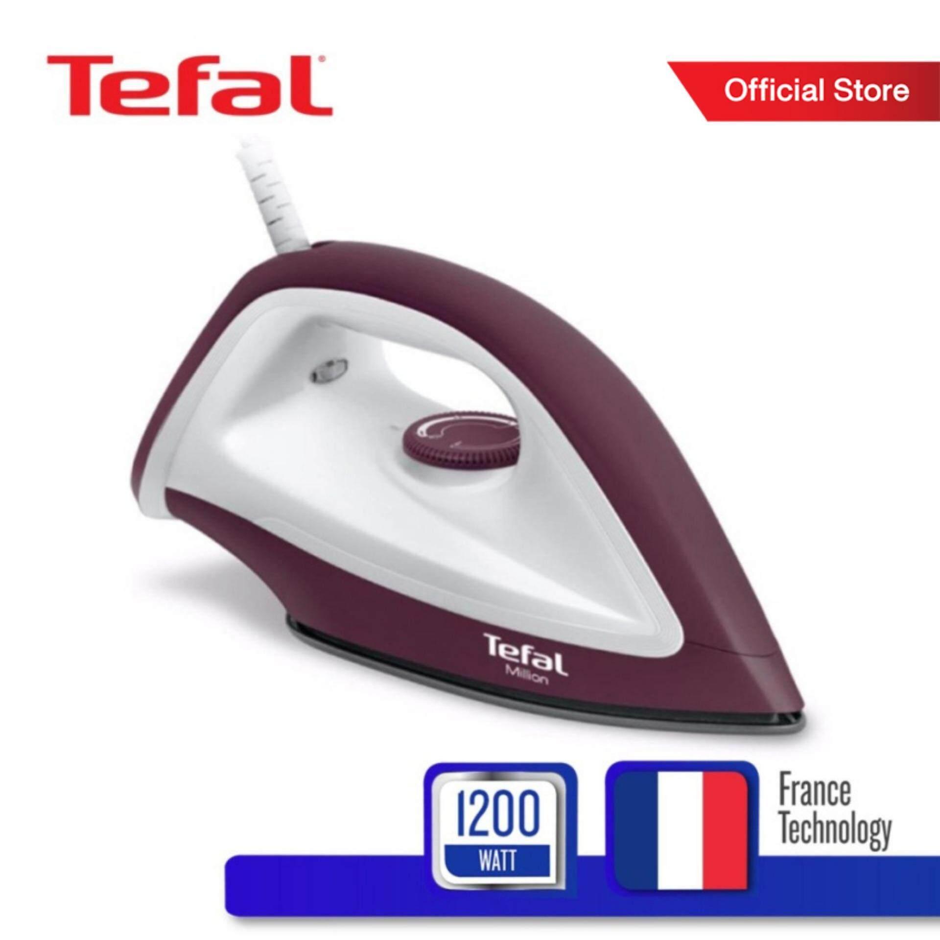 Tefal เตารีดแห้ง กำลังไฟ 1200 วัตต์ รุ่น FS2622T0 -Chocolate