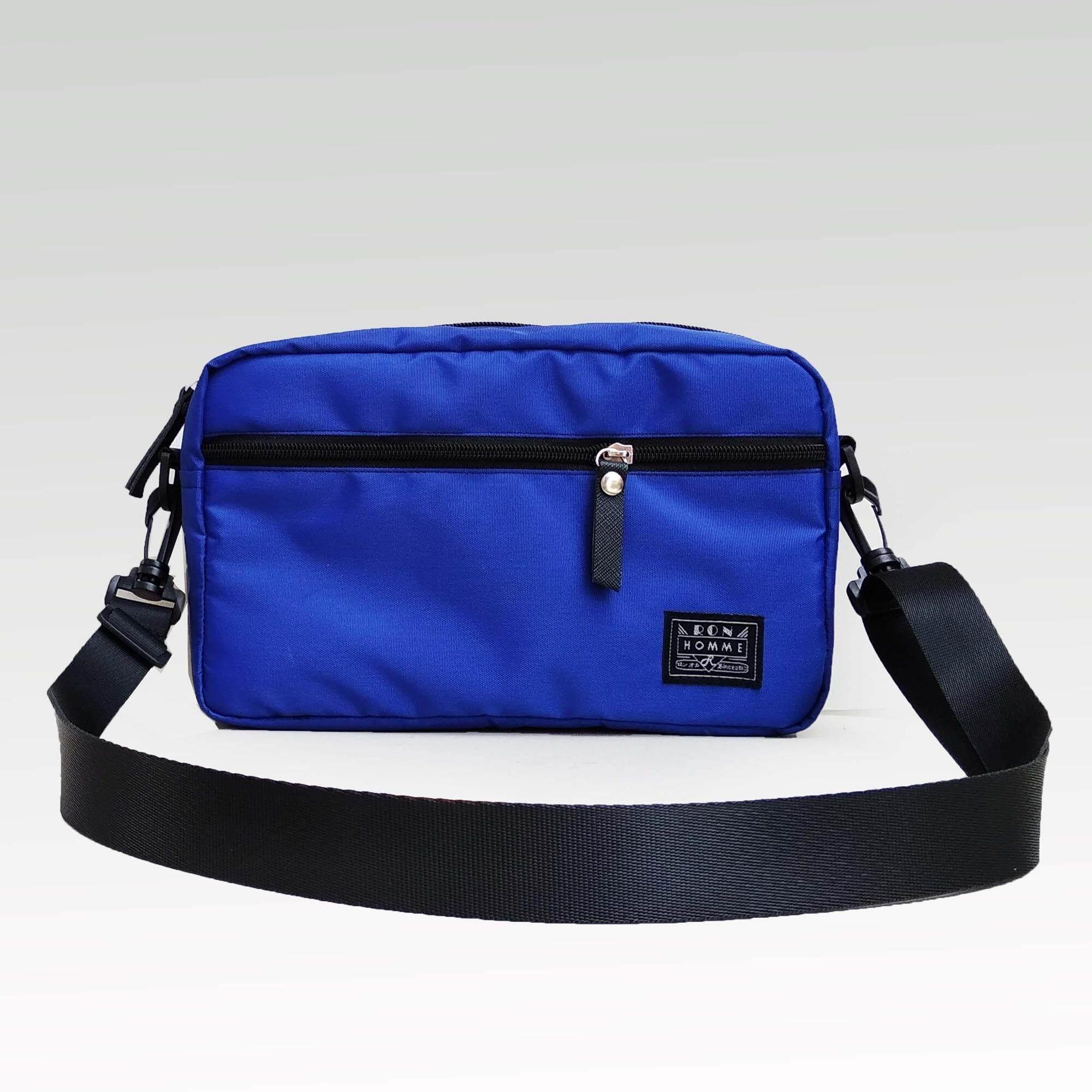 ทบทวน ที่สุด Ron Homme กระเป๋าสะพายข้าง โพลีเอสเตอร์กันนํ้า รุ่น Mini Bag9 Inch Blue