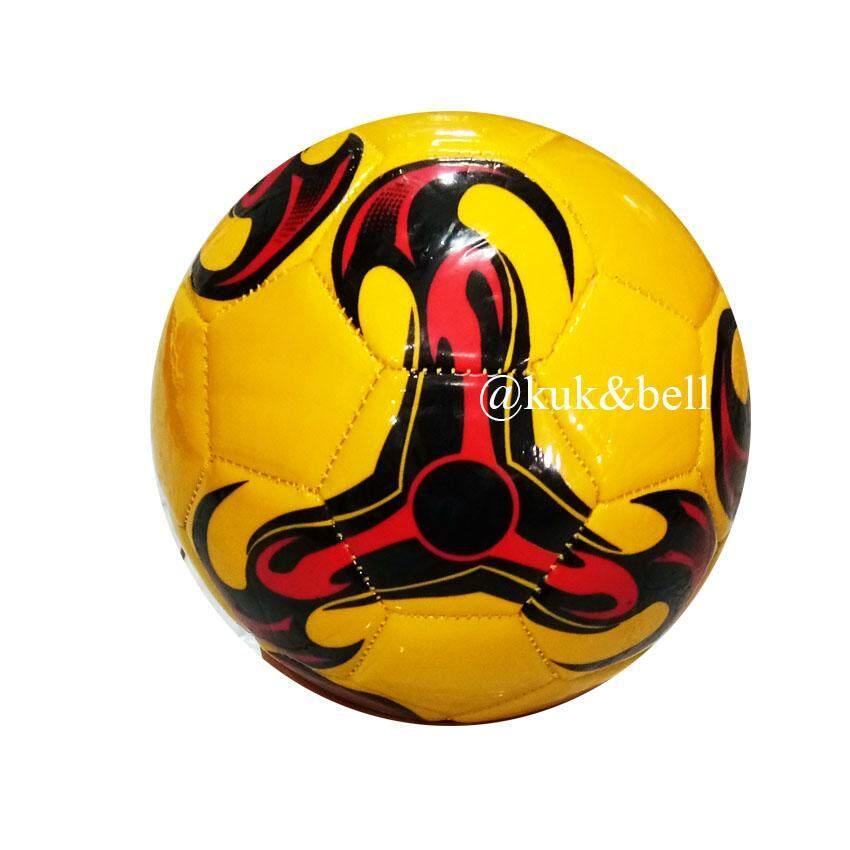 Patipan Toy บอลหนัง ฟุตบอล ฟุตบอลหนังสำหรับเด็ก ลูกเล็ก สีสดใส 7839 By Patipan Toy.