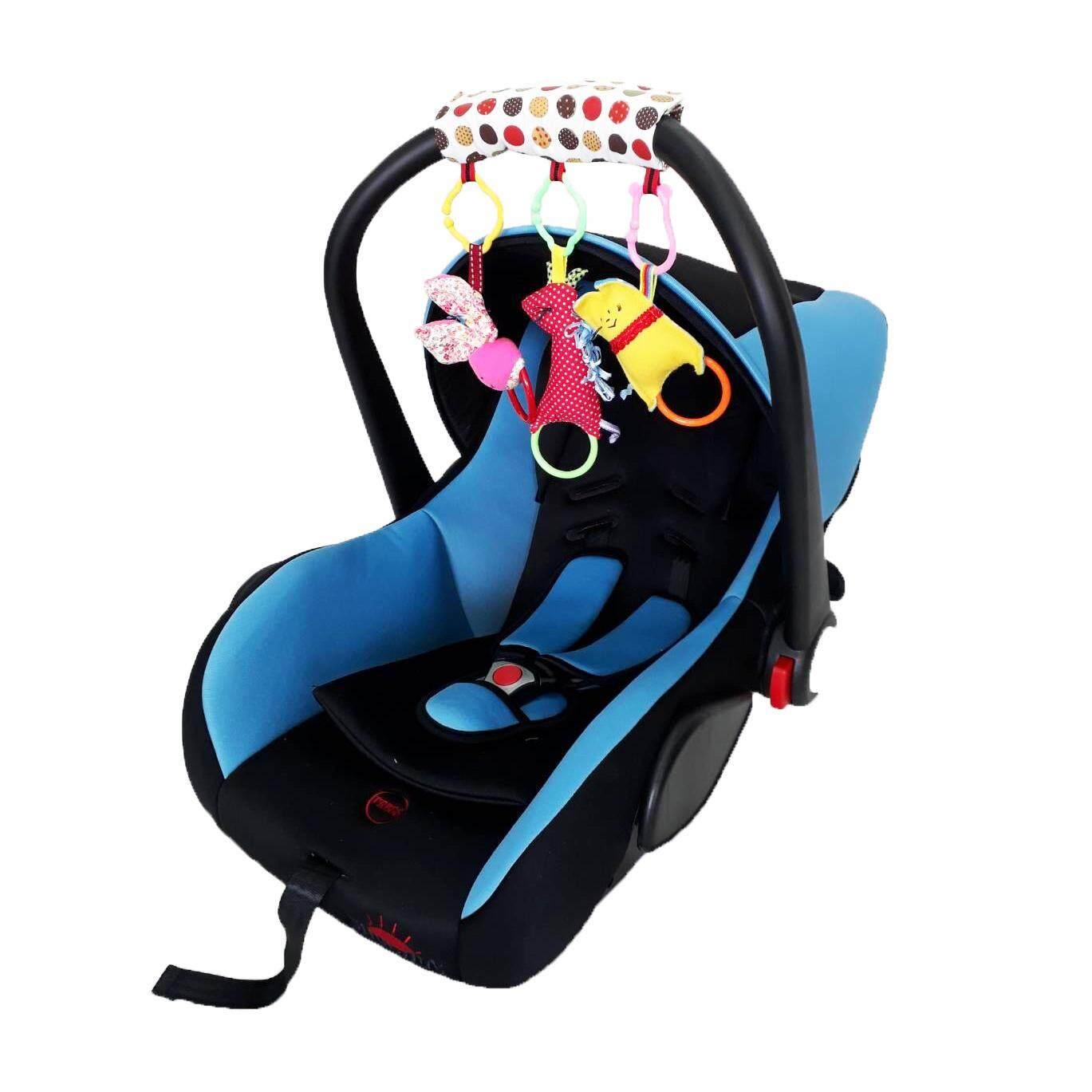 Chuchob car seat แบบกระเช้า สำหรับเด็กแรกเกิดขึ้น - 15 เดือน (สีฟ้า)