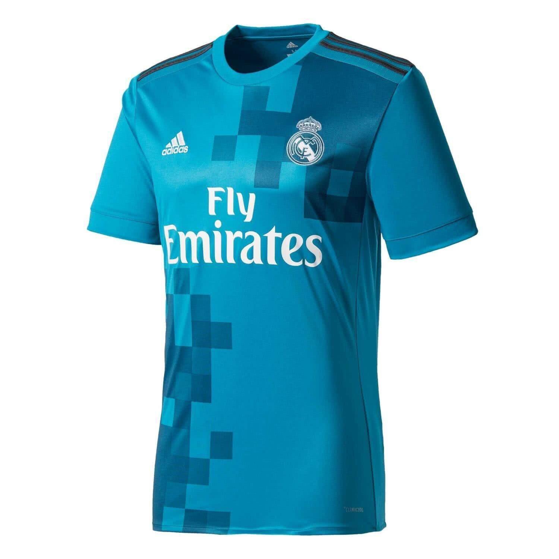 ซื้อ คุณภาพสูงจริง Madridfc ฟุตบอลเสื้อฟุตบอลการฝึกอบรมเสื้อยืด ใน จีน