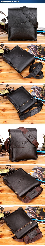 Men/'s Leather Business Messenger Laptop Carry On Shoulder Briefcase Handbag