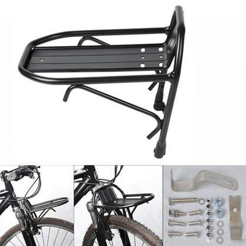 ตะแกรงหน้าจักรยาน แร็คหน้าจักรยาน อลูมิเนียม น้ำหนักเบา