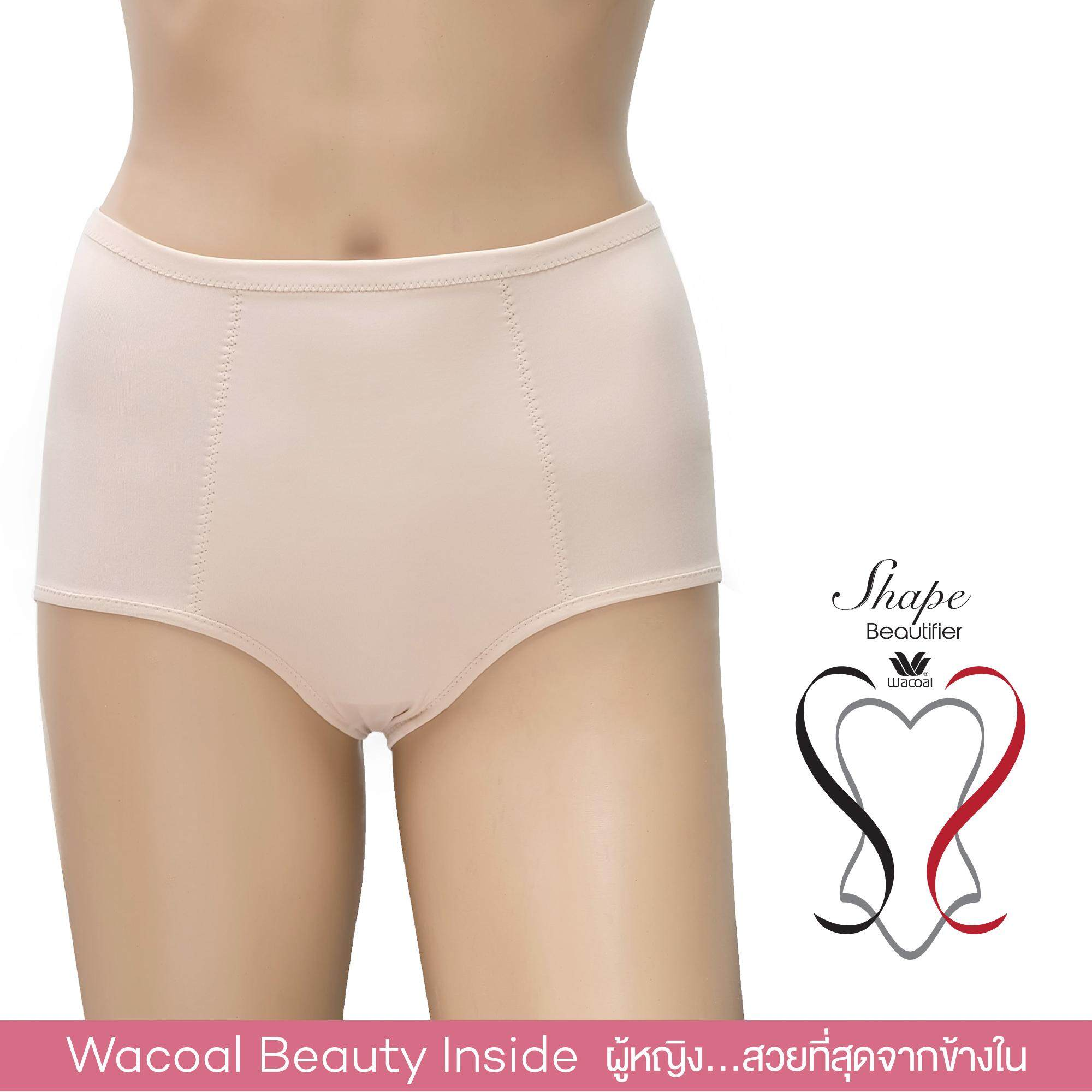 Wacoal Shape Beautifier Pants กางเกงเก็บกระชับ - WY9105