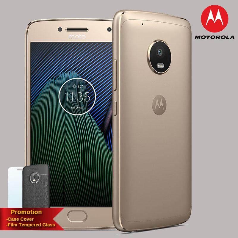 Motorola Moto G5 Plus 4GB+32GB 4G LTE [ฟรี Case + ฟิล์มกระจก] ประกันศูนย์ไทย 1ปี