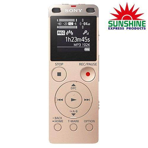 เครื่องบันทึกเสียง Sony รุ่น Icd-Ux560f/nc Ic Audio Recorder สีทอง .
