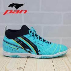 PAN รองเท้าฟุตซอล รองเท้ากีฬา Balancer Touch X PF14W3 (สีดำ)