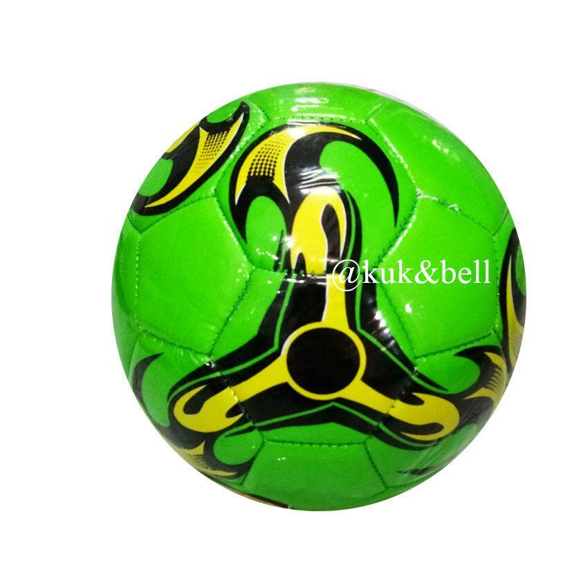 Coco Toy บอลหนัง ฟุตบอลหนังสำหรับเด็ก ลูกเล็ก สีสันสดใส 7839 By Coco Toy.