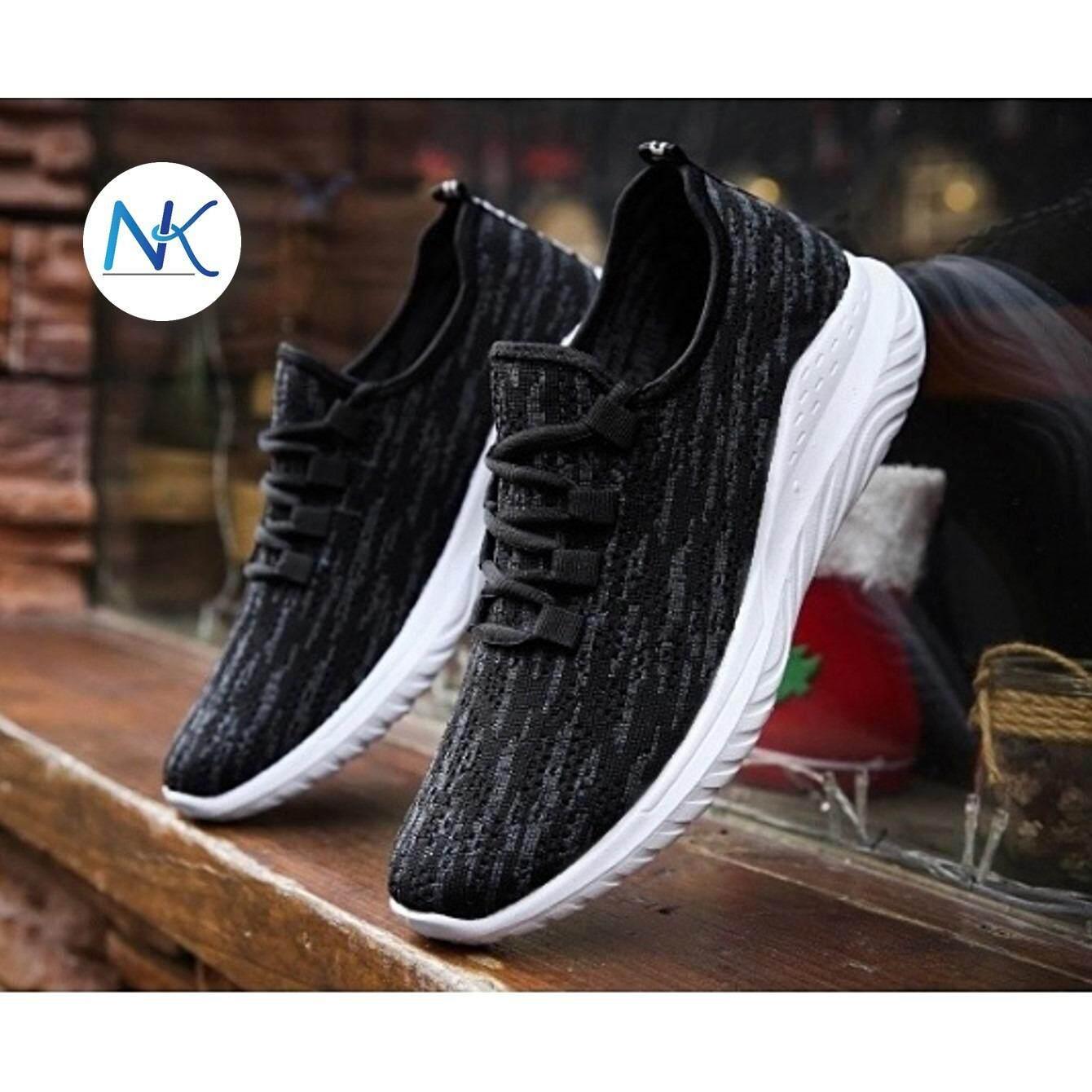 mymyshop รองเท้าผ้าใบ รองเท้าผ้าใบผู้ชาย รองเท้าลำลอง เบาสบายสวมใส่ง่าย