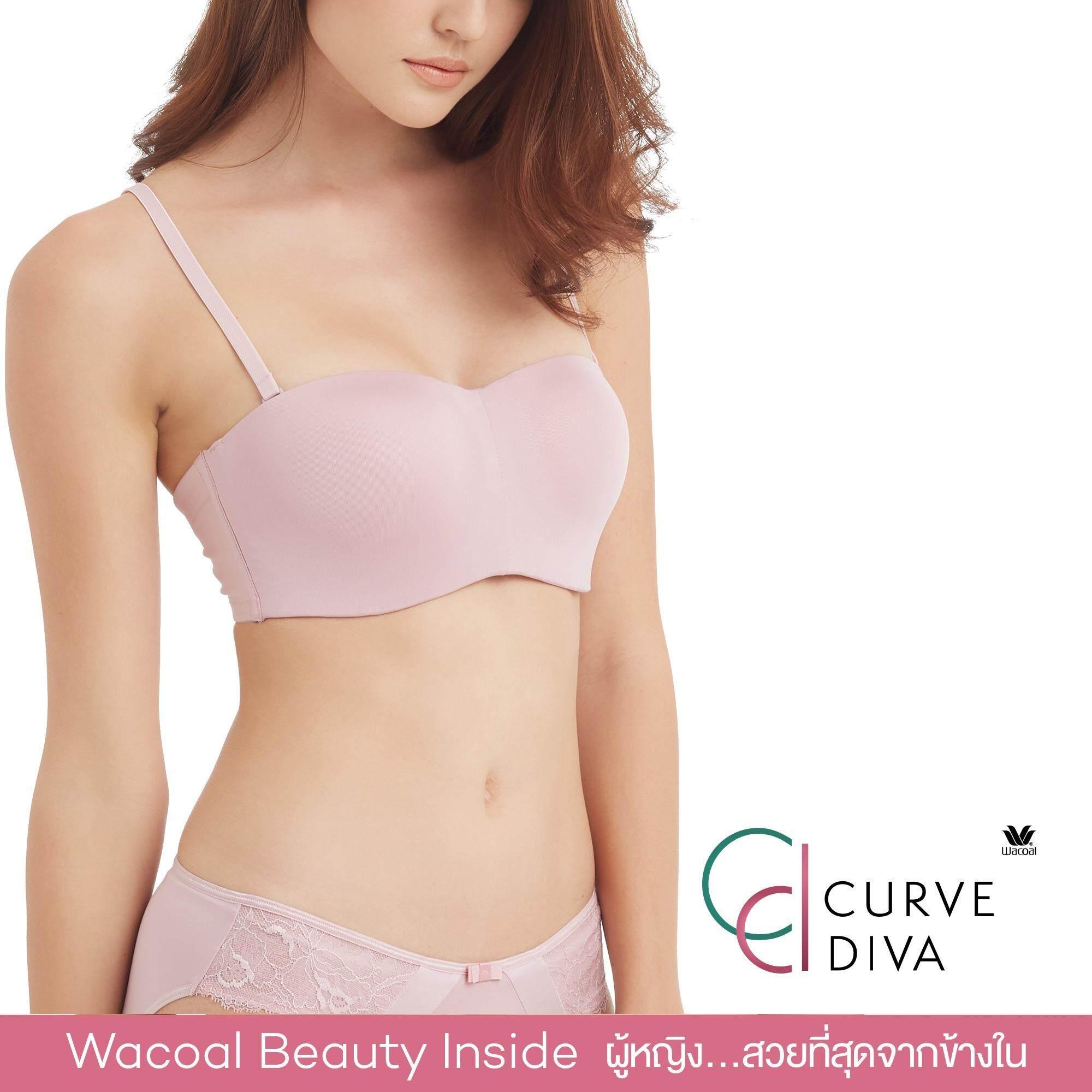 ซื้อ Wacoal Curve Diva Switching Bra บราสลับสายบ่า 1 2 Cup สีชมพูกุหลาบป่า Wild Rose Wb7939Wr ใน ไทย