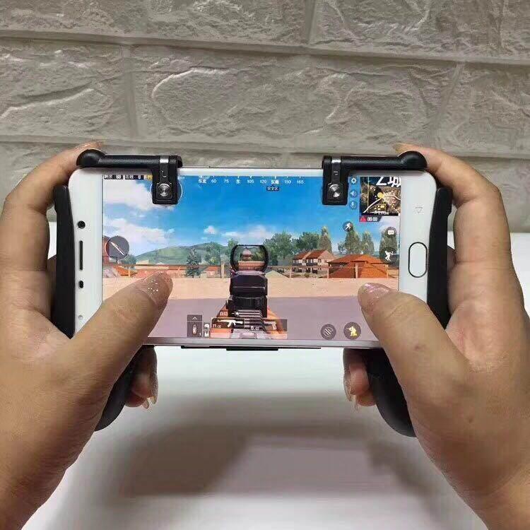 Joypod Mobile Joystick จอยถือด้ามจับเล่นเกมสำหรับมือถือ 4.5นิ้ว-6.5นิ้ว New รุ่นw03 รุ่นใหม่ล่าสุด By Atthailand.