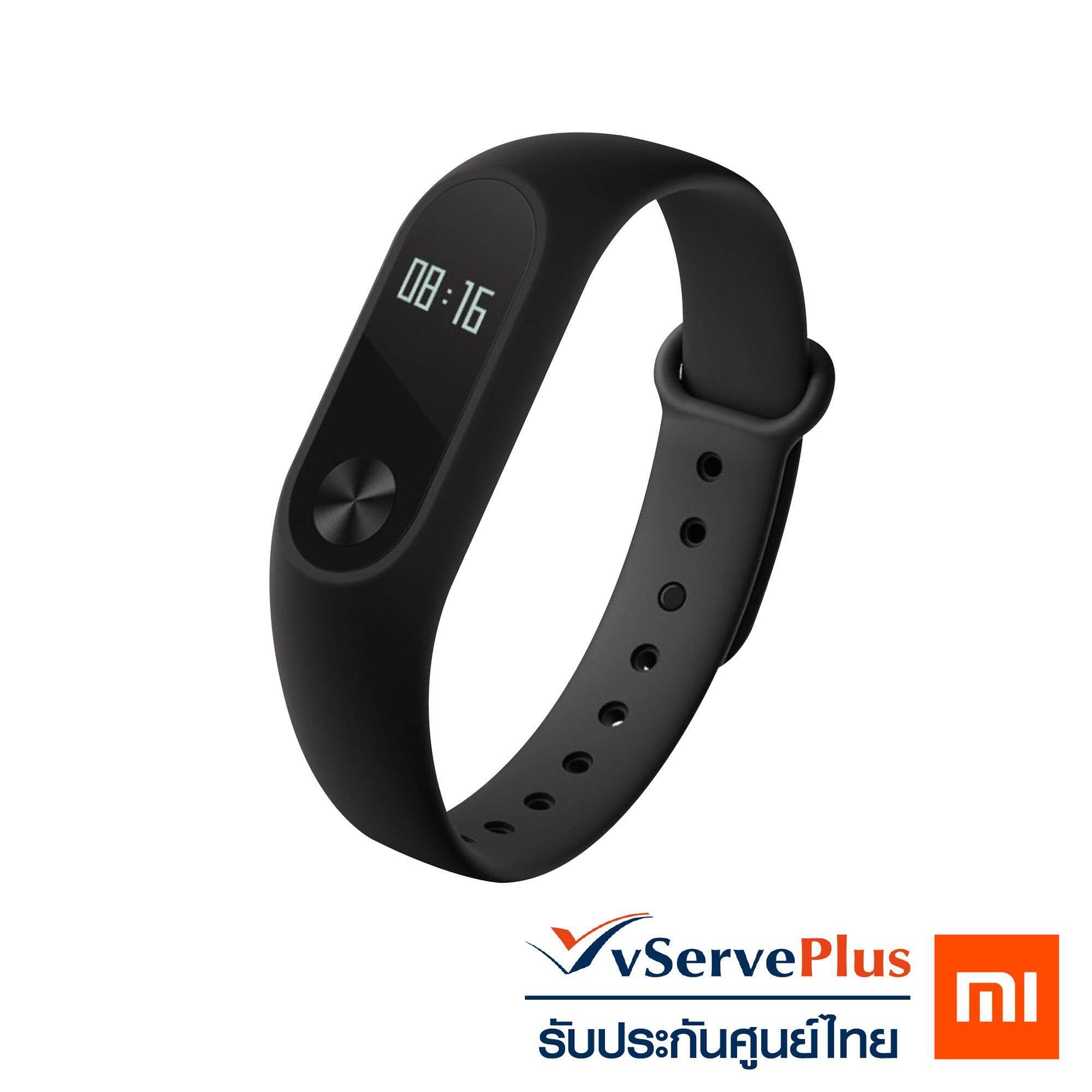 [[ รับประกันศูนย์ไทย 100% ]] Xiaomi Mi Band 2 นาฬิกาสายรัดข้อมืออัจฉริยะ ยอดขายอันดับ 1 วัดสุขภาพ มีเซ็นเซอร์วัดคลื่นหัวใจ