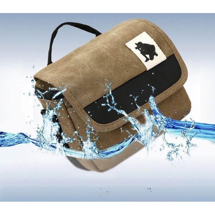 กระเป๋ากล้อง สะพาย ขนาดพกพกสะดวก กันน้ำ ใช้ได้ทั้งกล้อง Dslr และ Mirrorless สำหรับ Canon, Nikon, Sony, Fujifilm.