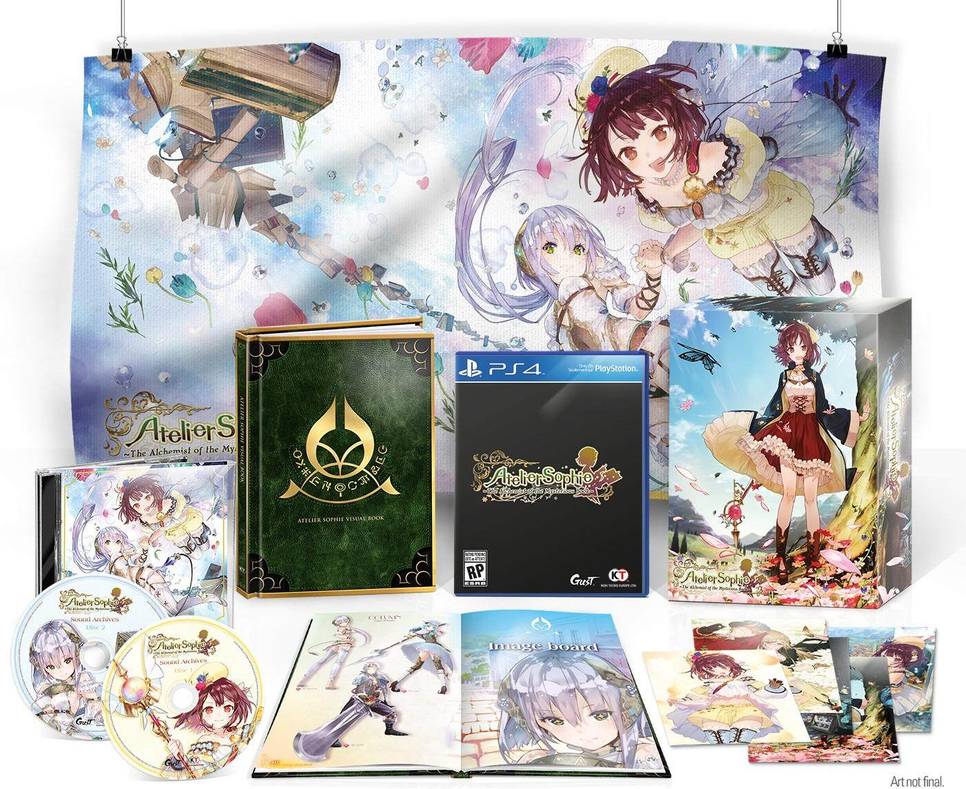PS4 ATELIER SOPHIE: THE ALCHEMIST OF THE MYSTERIOUS BOOK LIMITED EDITION (US)