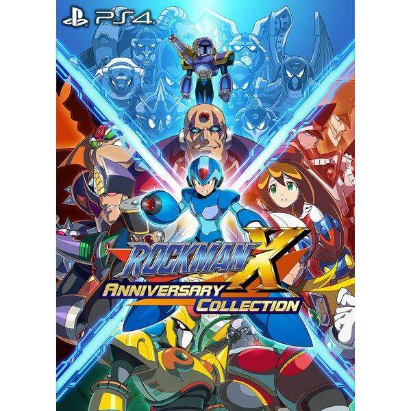 PS4 ROCKMAN X ANNIVERSARY COLLECTION (JAPAN)