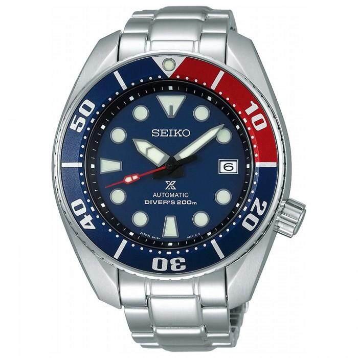 สอนใช้งาน  พิจิตร SEIKO Prospex 200M Diver Automatic SBDC057 Pepshi Color Made in Japan ประกันศูนย์ แท้นำเข้าจากญี่ปุ่น