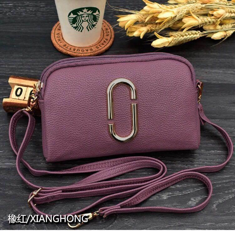 หนองคาย กระเป๋าสะพายข้างใบเล็ก กระเป๋าถือ mini Bag ซิป 2 ช่อง รุ่นYK 011