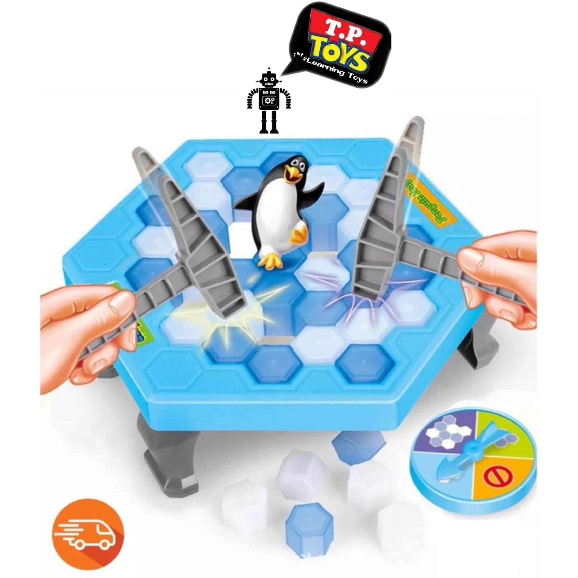 ซื้อ T P Toys ทุบน้ำแข็งเพนกวิน Penquin Trap ออนไลน์ สมุทรปราการ