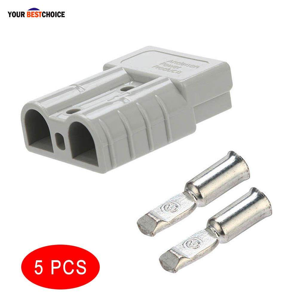 Ybc 1/5/10pcs 50amp Carvan Charger Battery Dc Power Connector For Anderson Plug By Your Bestchoice.
