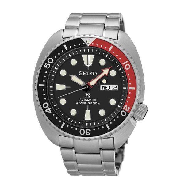 ยี่ห้อนี้ดีไหม  สงขลา SEIKO นาฬิกา Prospex X DIVER s 200 เมตร SRP789K1 BlackRed
