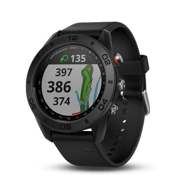ยี่ห้อไหนดี  สุรินทร์ Garmin Approach S60 Black สีดำ นาฬิกากอล์ฟ ประกันศูนย์ไทย 1 ปี