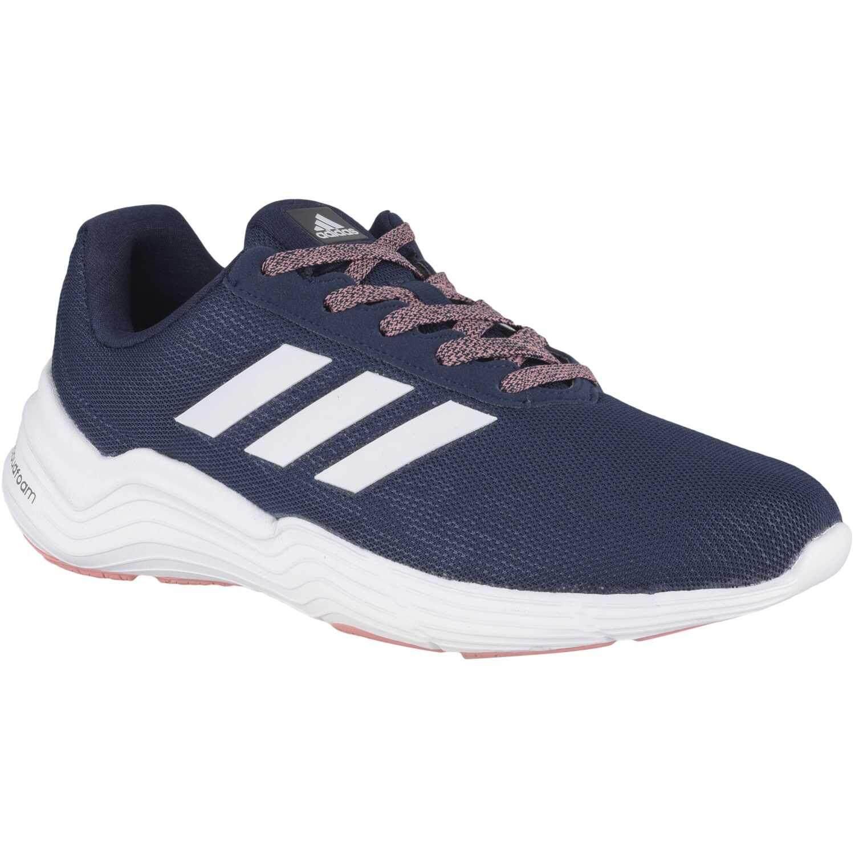 Adidas รองเท้า ออกกำลังกาย ผู้หญิง อาดิดาส Women Excercise shoes Fluid Cloud Bold Blue White น้ำหนักเบามาก สวมใส่สบาย พื้นรองรับแรงกระแทกดีมาก ของแท้100% ส่งไวด้วย kerry!!!