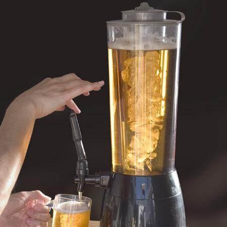 ของแท้ 2.5l น้ำแข็งถังเครื่องกดเบียร์โถเบียร์สดหอเครื่องกดเบียร์เครื่องดื่มน้ำปริมาณเครื่องรินเหล้า By Taobao Collection.