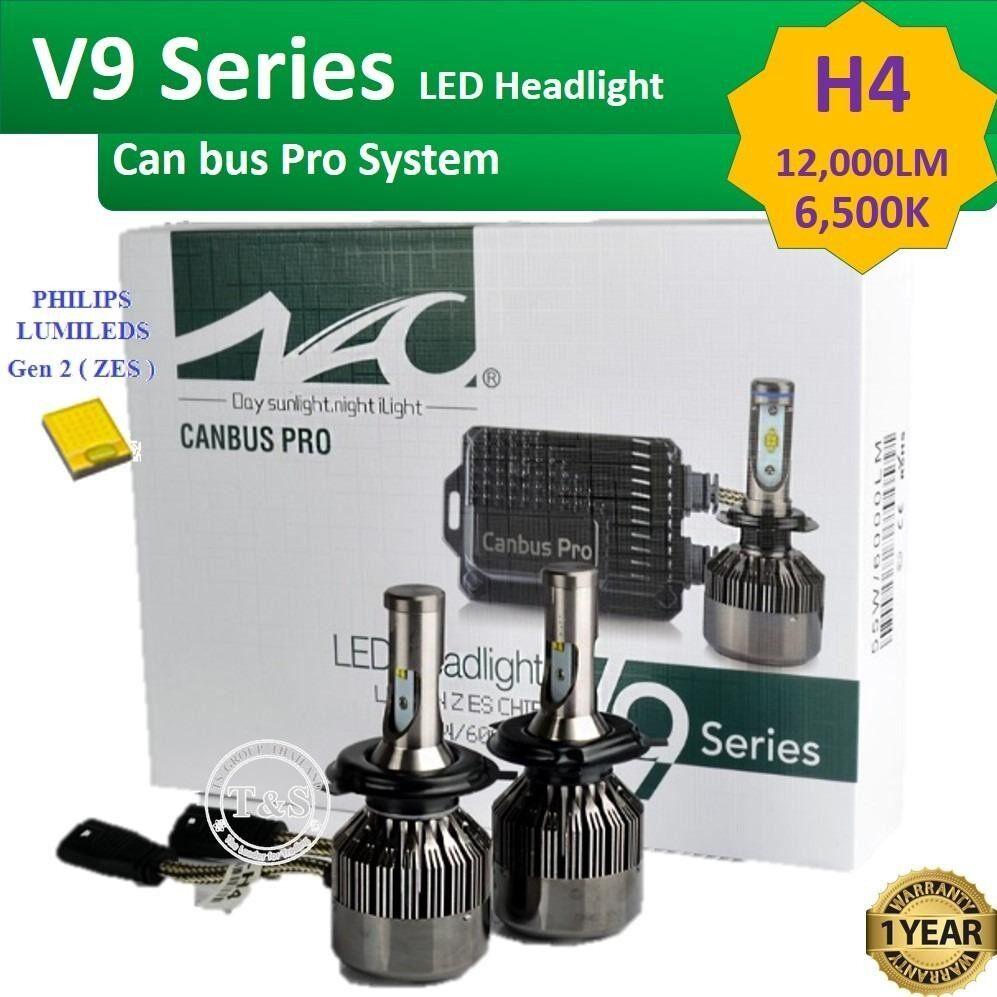ขาย Led ไฟหน้ารถยนต์ Led รุ่น V9 ขั้วหลอด H4 Canbus System 12 000 Lm ออนไลน์ กรุงเทพมหานคร