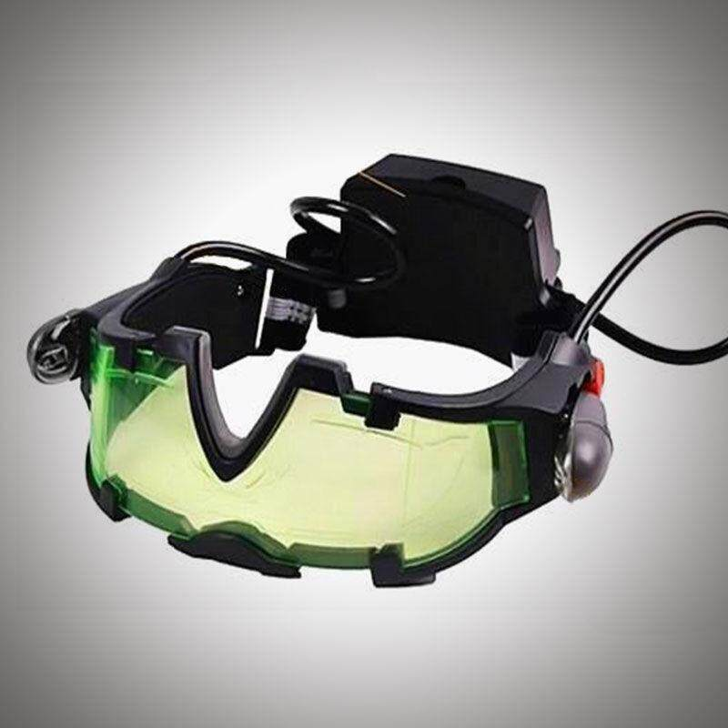Night Vision Goggles Glasses Elastic Band Light Toy Gear Eye Security Eyeshield By 325bobbutler.