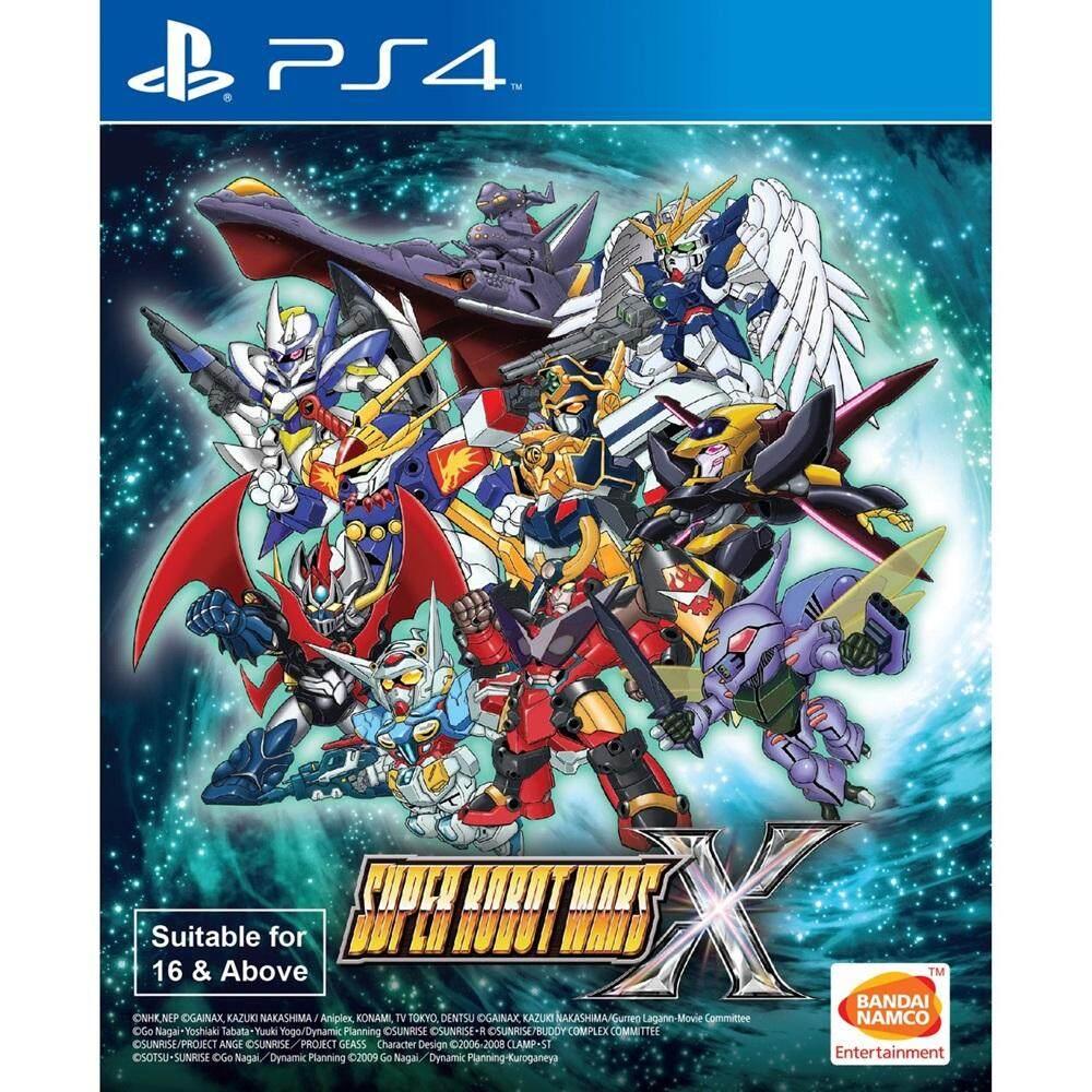 PS4 : Super Robot Wars X [Asia][Sub Eng]