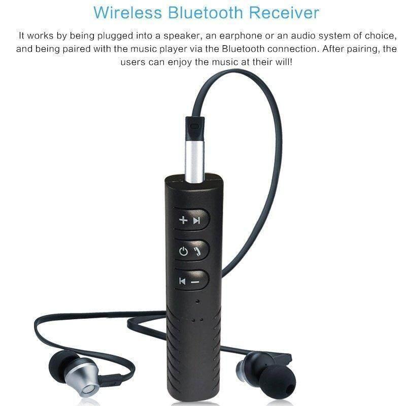 Bluetooth Speaker Car Bluetooth Music Receiver Hands-Free บลูทูธในรถยนต์ รุ่น Bt310(black) By Zetai.