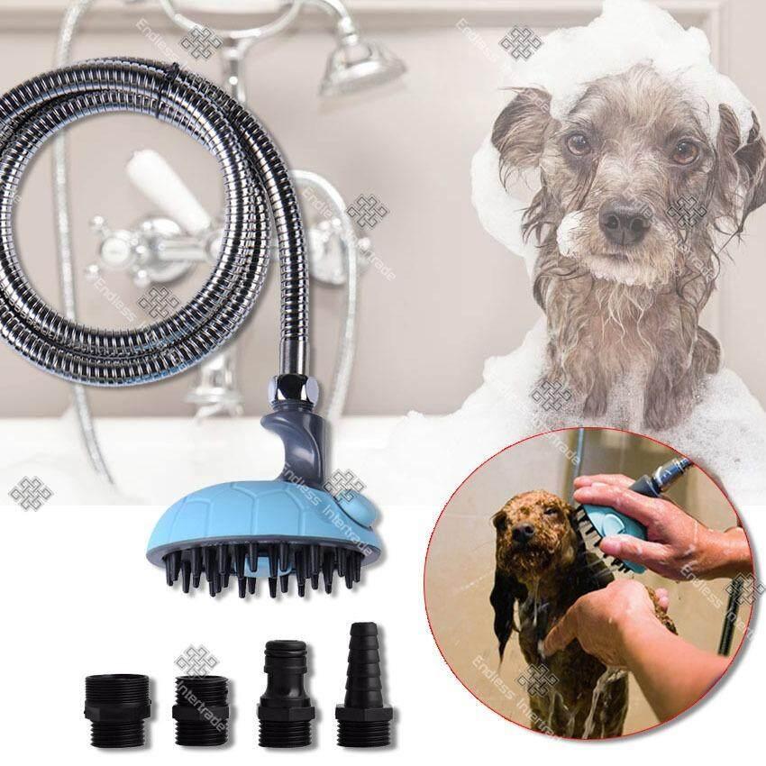 ราคา Tml ฝักบัวอาบน้ำสุนัข พร้อมแปรงขัดในตัว Dog Bath Sprayer Thailand