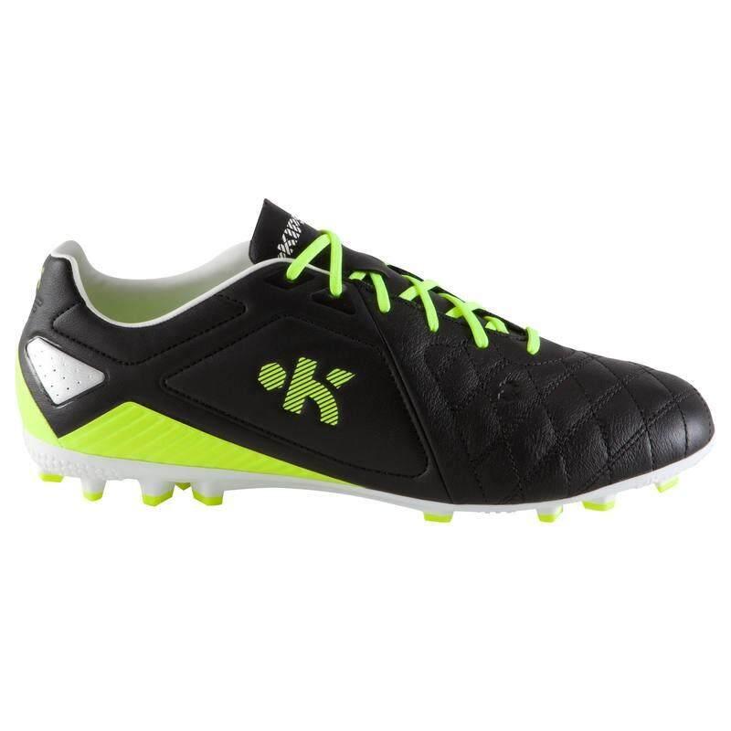<>สินค้าคุณภาพสูง<> รองเท้าฟุตบอลผู้ใหญ่สำหรับพื้นสนามหญ้าเทียมรุ่น Agility 700 Pro Ag (สีดำ/เหลือง) โปรโมชั่น By Eagle Tech.