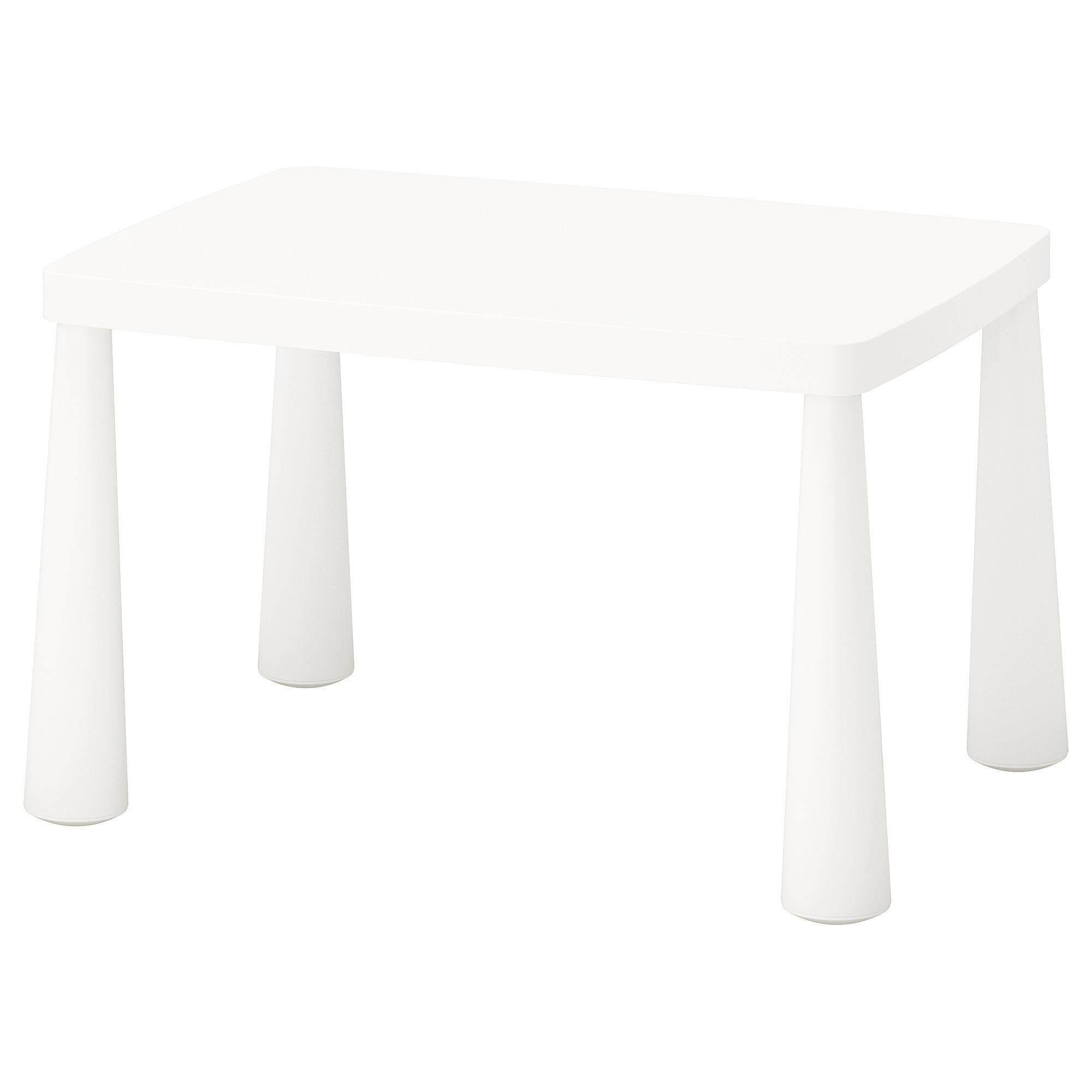 โต๊ะเด็ก, ใน/นอกอาคาร ขาว ขนาด 77x55 ซม. เฟอร์นิเจอร์สนามสำหรับเด็ก Mammut ขนาด 77x55 ซม. By Bombaymall.