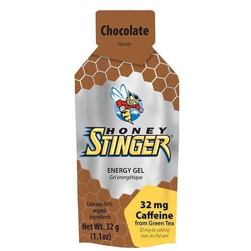 Honey Stinger Organic Gel เจล สำหรับนักกีฬา รสช็อคโกแลต 32 มิลลิลิตร.