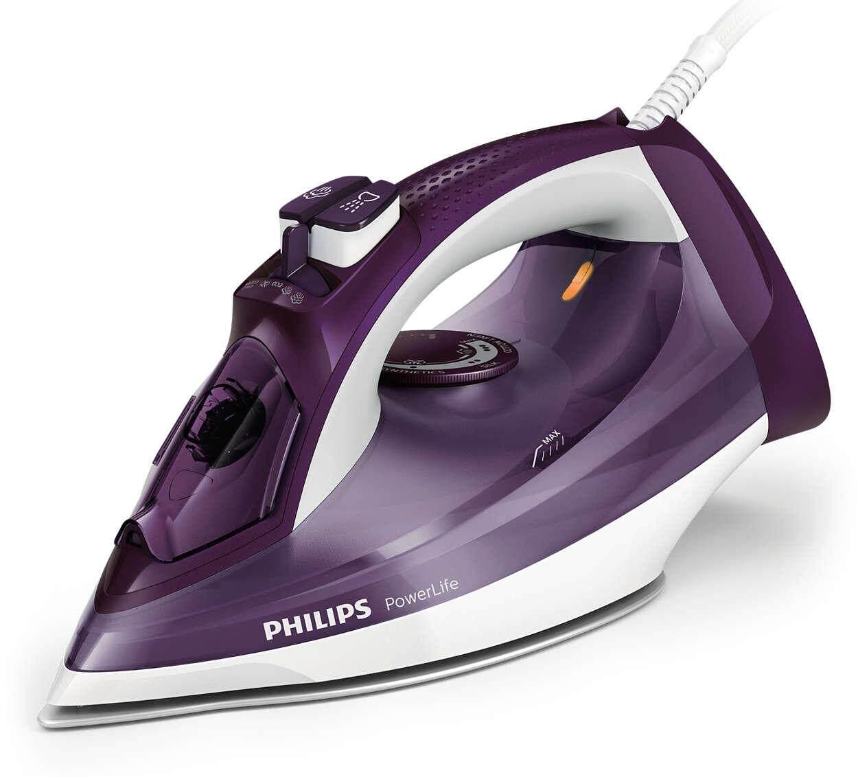 Philips PowerLife เตารีดไอน้ำ GC2995/30 Free Shipping