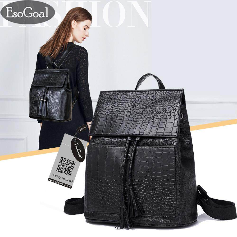 ขาย ซื้อ Esogoal Women S Pu Leather Backpack Purse Mulifunction Ladies Casual Shoulder Bag Daypack For Ladies