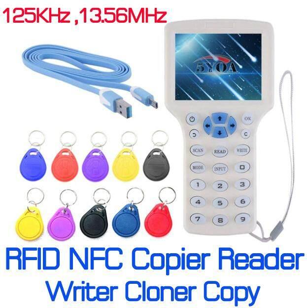 เครื่อง อ่าน เขียน ทำสำเนา ก๊อบปี้ โคลน บัตร RFID 125KHz