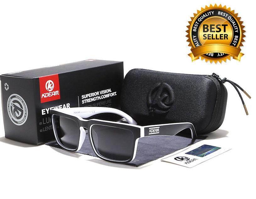 Kdeam Sunglasses แว่นตากันแดด เลนส์โพลาไรซ์ Uv 400 พร้อมกล่อง และของแถมรวม 4 ชิ้น มี8แบบให้เลือก By Pati Harn.