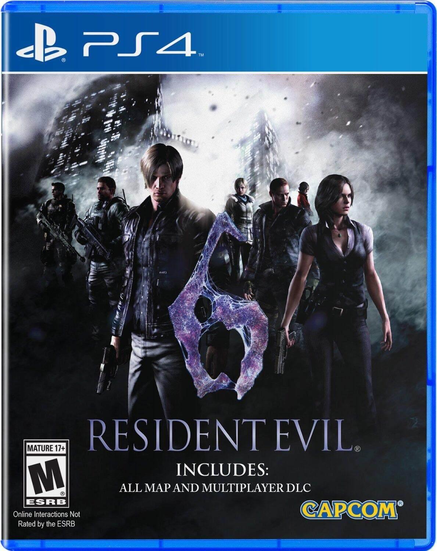 PS4 แผ่นเกมส์ PS4 : Resident Evil 6