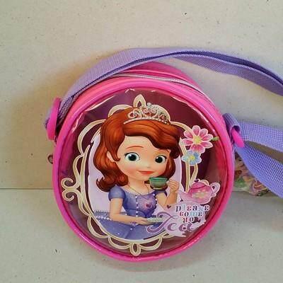 ส่งฟรี!!! ขาย กระเป๋าสะพาย กระเป๋าสะพายข้างใบเล็ก สำหรับเด็ก เจ้าหญิงโซเฟีย Sophia