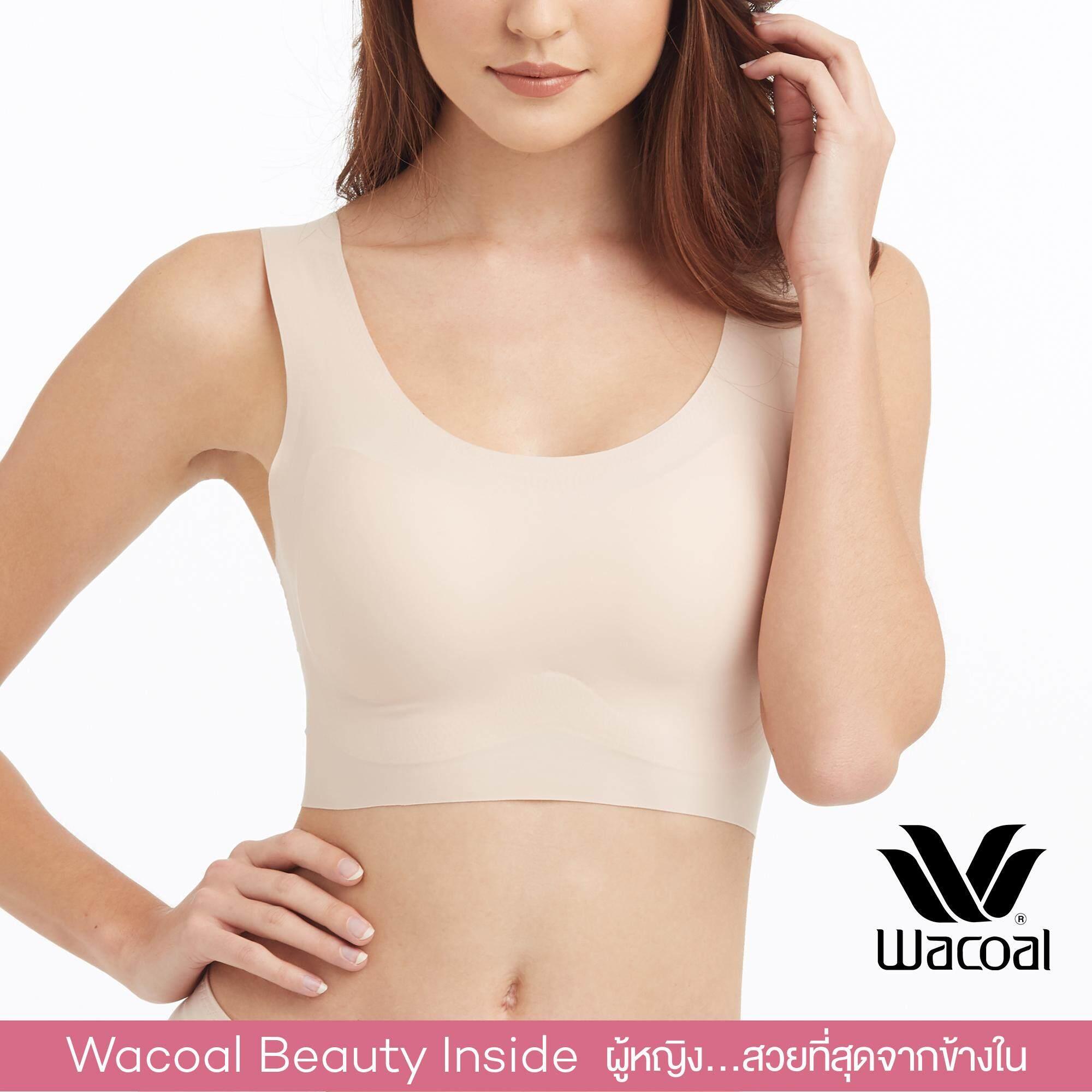 Wacoal Lingerie Casual bra (Feel free bra) บราสวมหัว - WH9E03