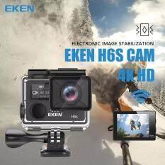 GD Mobile From BangKok Eken H6S [2018] Native 4K+ 14MP Action Camera Review พร้อมรีโมท  กล้องกันน้ำมอไซน์ HD เชื่อมต่อWiFi รับประกัน1ปี-Black