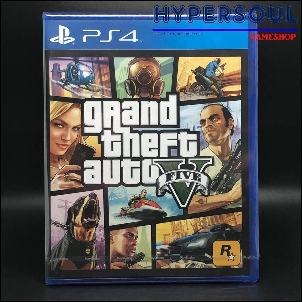 PS4-G: GRAND THEFT AUTO V (R3)(EN)