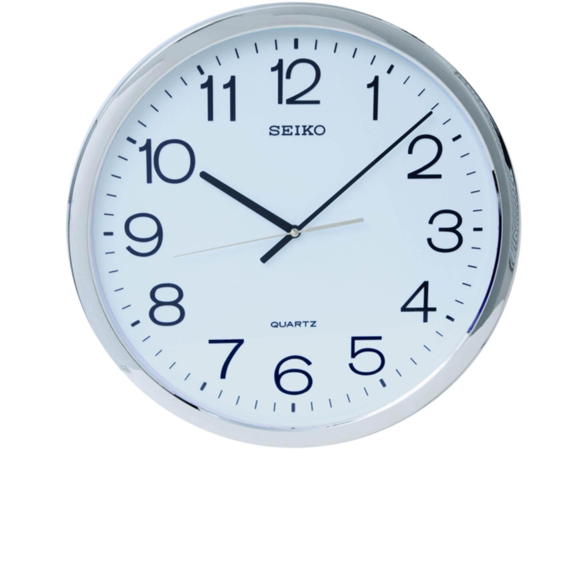 Seiko Clocks นาฬิกาแขวน รุ่น Pqa041S เป็นต้นฉบับ