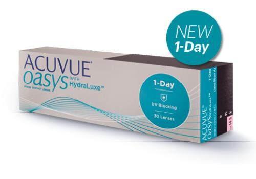 1-Day Acuvue Oasys [ Bc 8.5 / สายตาสั้น ].
