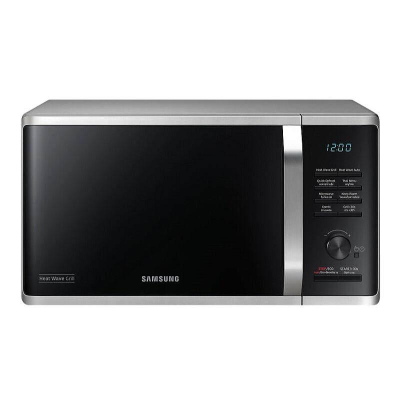 Samsung ไมโครเวฟดิจิตอล 23l. 800w.รุ่น Ms28h5125bk By Benjamin Shop.