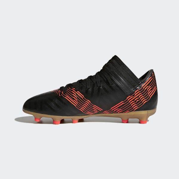 รองเท้าฟุตบอลเด็ก Adidas Cp9165 Nemeziz 17.3 Fg J - Black รองเท้าฟุตบอลอาดิดาส By Gear Up.