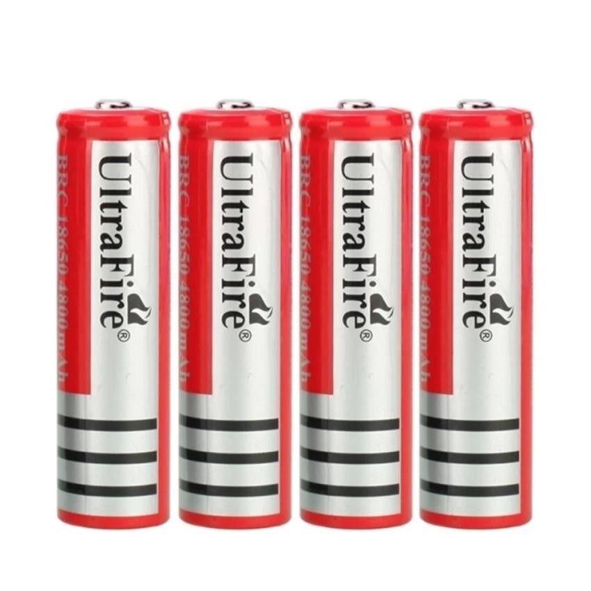 ราคา ถ่านชาร์จ Li Ion 18650 Ultrafire 3 7V ความจุ 4800Mah 4ก้อน ออนไลน์