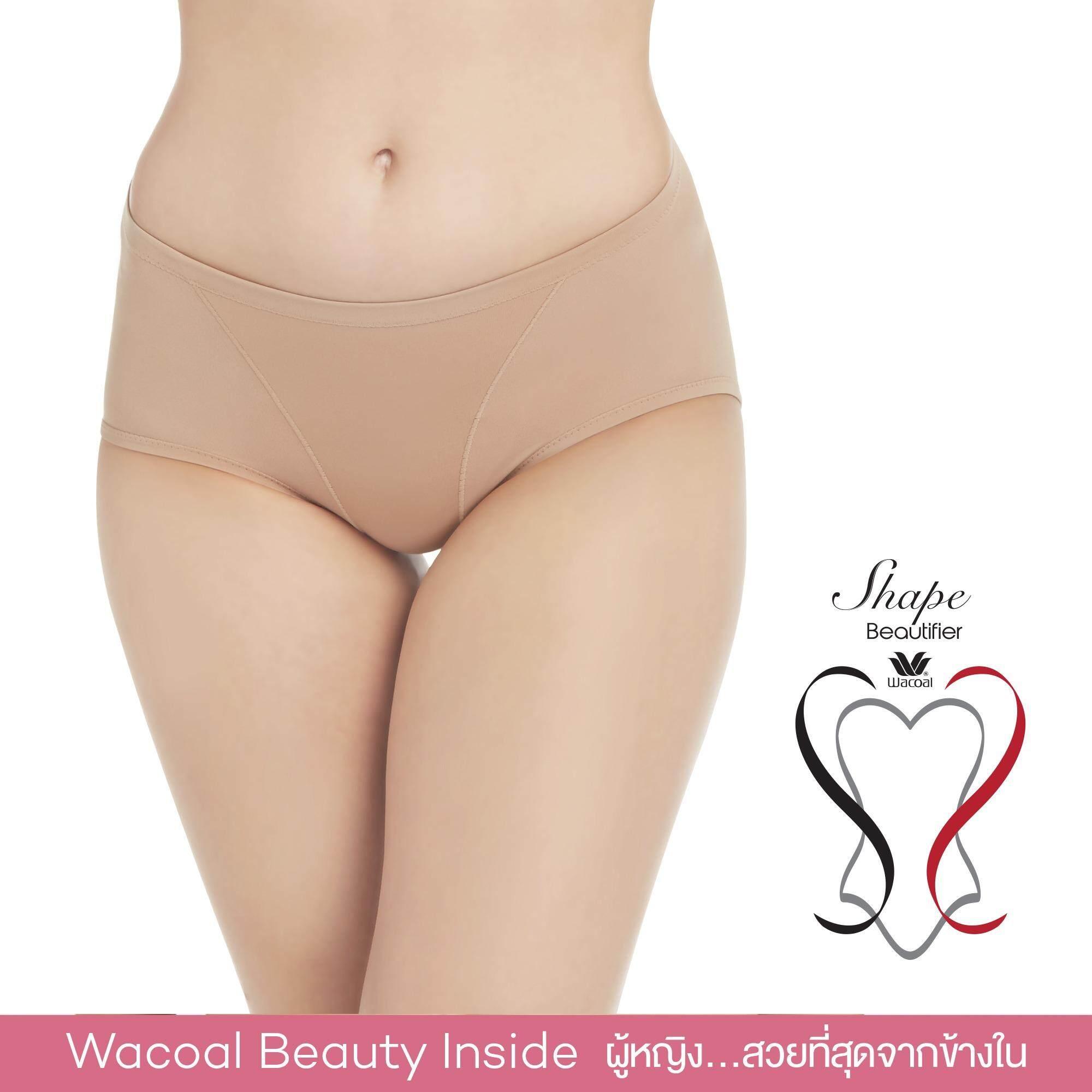 Wacoal Shape beautifier Hips กางเกงยกสะโพก เอวต่ำ - WY1129